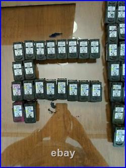 LOT of 20 VIRGIN Empty Canon GENUINE 210 210XL BLACK 211 211XL COLOR FRESH PP
