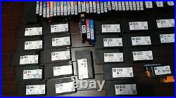 Large Lot of Empty Geniune HP ink cartridges 164 VIRGIN
