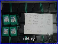 Lot 128 Empty Virgin Genuine OEM HP C9363W C9361W C9766W CB338W Inkjet Cartridge