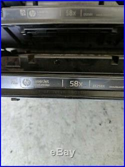 Lot 4 EMPTY Virgin OEM Genuine HP 58X Laser Toner Cartridge CF258X FREE SHIP NT2