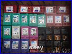 Lot 50 Empty Virgin OEM Genuine Hp C6657A C6658A C9359A C9352A C9352D F6U61A