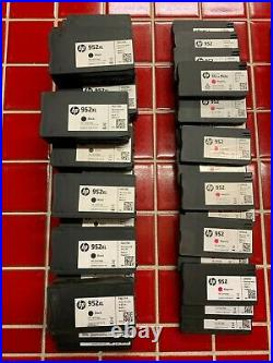 Lot/92 HP 952 Empty Printer Ink Cartridges 23 Complete sets XL Black Virgin D13