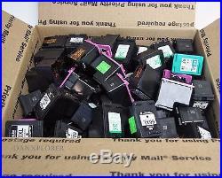 Lot Of 100 Empty Ink Cartridges (mix)