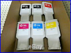 Lot Of 225 HP 745 Multi-color Ink Cartridge Used/untested/empty/hp #745/genuine