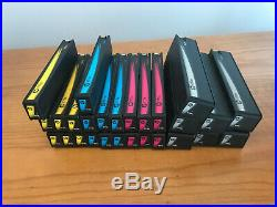Lot Of 27 HP 970xl/970/971xl/971/971 Setup Mixed Color Ink Cartridge Used