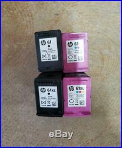Lot Of 28 Genuine HP 61 & 61xl Empty Virgin Black & Color Ink Cartridges Cb-10