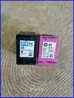 Lot Of 28 HP 61 Empty Virgin Ink Black & Tri-color Ink Cartridges G1-4