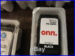 Lot Of 35 Empty Canon Ink Cartridges, 245, 245xl, 246xl, 244