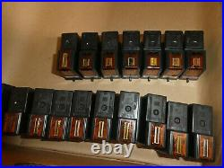 Lot Of 490 Lexmark # 2,3,4,31,37,35,16,17 Mixed Black/color Ink Cartridge/oem