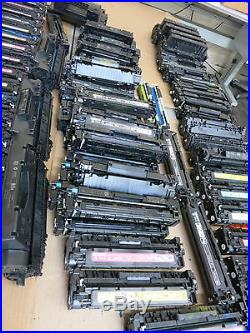 Lot Of 90 HP MIX Color Toner Empty/used/untested/hp 312,305,201,80x, 131 As Is