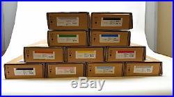 Lot of 11 Epson Stylus Pro Ink Cartridges 7700/7700M/7890/7900/9700/9890/9900
