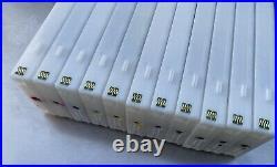 Lot of 11 USED EMPTY Epson TM-C7500G Magenta Ink Cartridge SJIC30P M Y C Black