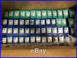 Lot of 123 HP 22/57/60/60XL/75/75XL/93/95/97/901 Empty Color Virgin Ink Cores