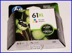 Lot of 14 HP 61 HP 61XL Color and Black Empty Virgin Ink Cartridges