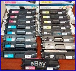 Lot of 19 Genuine OEM Brother Virgin Empty Toner Cartridge TN-310 331 COL & BLK