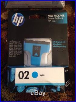Lot of 19 HP Ink Cartridges- 02, 15, 61, 74, 75, 96, 97, 950XL