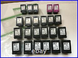 Lot of 24 HP Ink Cartridge EMPTY Virgin 61 61XL Tri color Black