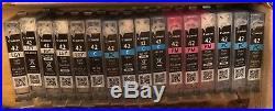 Lot of 34 EMPTY Virgin OEM Canon CLI42 Inkjet Cartridges