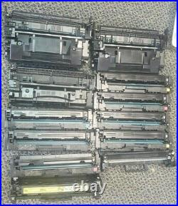 Lot of 39 Virgin Genuine Empty HP 58A/89A and others toner Cartridges