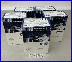 Lot of 5 Fargo DTC Refillable Smart Load Ribbon Cartridges, 044261, C30/DTC400