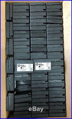 Lot of 676 Empty HP 932XL Black VIRGIN OEM Ink Cartridges nice & clean