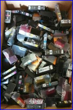 Lot of 740 Empty CANON VIRGIN MIXED MODELS Ink Cartridges Reward