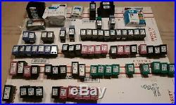 Lot of 81 Used Genuine Virgin HP Ink Cartridges