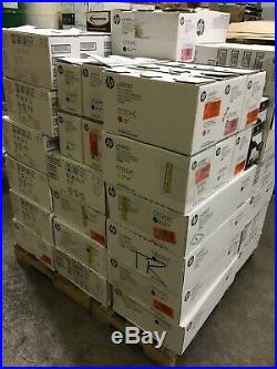 Lot of 91 Empty Genuine HP Virgin Toner Cartridges