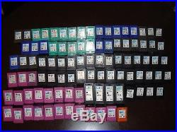 Lot of 95 Virgin Empty HP Ink Cartridges 61, 62,60, 74xl, 57,22,98, 901, 901XL