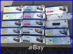 Lot of ink cartridges and toner