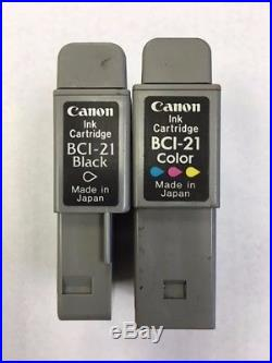 Mix lot of 1000 Canon BCI-21 Black & Color Virgin Empty Ink Cartridges