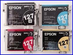 Mix lot of 200 Virgin Empty Epson 127 Ink Cartridges