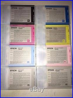 Mixed Lot of 500 Epson Virgin Empty Ink Cartridges T6031,32,33,34,35,36,37,39