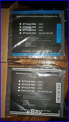 Nachfüllbare, 8 leere Tintenpatronen für Epson Stylus Pro 4800