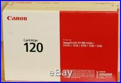 New Genuine Factory Sealed Canon 120 Black Toner Cartridge