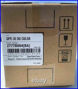 New Genuine Factory Sealed Canon 2777B004 Color Drum Unit GPR-30 DAMAGE