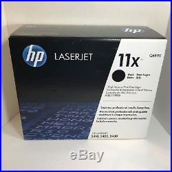 New Genuine Factory Sealed HP 11X Laser Cartridge Laser Toner Cartridge Black Bx