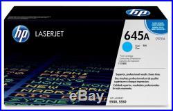 New Genuine Factory Sealed HP C9731A Cyan Toner Cartridge New Black Packaging
