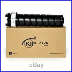 New Genuine Factory Sealed KIP 7170 Toner OEM Black (2 400 gm toners per box)