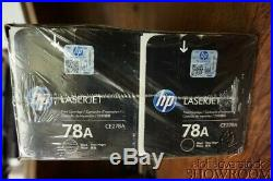 New Sealed Box Genuine OEM HP 78A CE278A Black Toner LaserJet Pro P1566 6B23VC2a