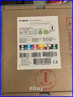 Oce 3010112534 White IJC256 UV Ink