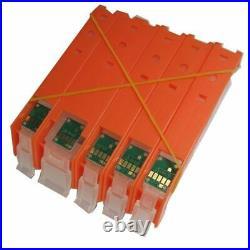 PGI-470 PGBK 470 471 CLI-471 refillable ink cartridge refill permanent chip For