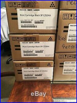 Ricoh Toner Cartridges x13 Empty Virgin