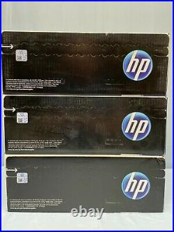 Set 3 HP 643A Toners Q5951A Q5952A Q5953A Cyan Yellow Magenta