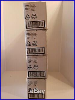 Set of CE410XC, CE411AC, CE412AC, CE413AC print cartridges