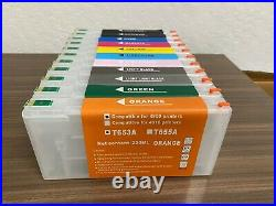 Wide Format Empty Refillable Ink Cartridge Set Compatible for Epson Pro 4900