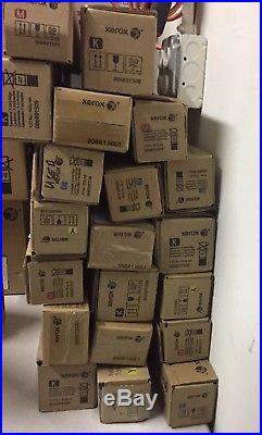 Xerox EMPTY Genuine Toner Lot of 20 EMPTY