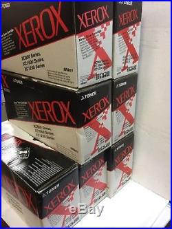 Xerox EMPTY Toner Cartridges XC 800 Lot of 7 Standard Black Color