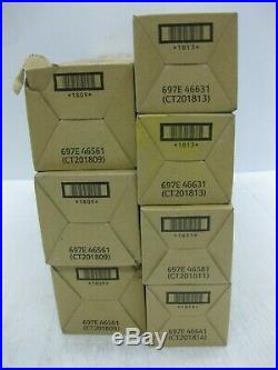 Xerox Virgin EMPTY Toner Cartridges 7800 LOT OF 7 SHIPS OVERBOXED
