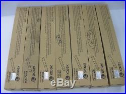 Xerox Virgin EMPTY Toner Cartridges 7800 Lot of 29 Standard Yield Color